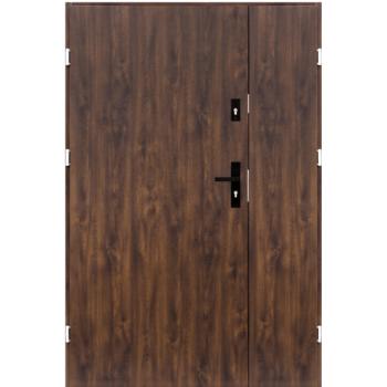 Drzwi wejściowe Dwuskrzydłowe Gładki